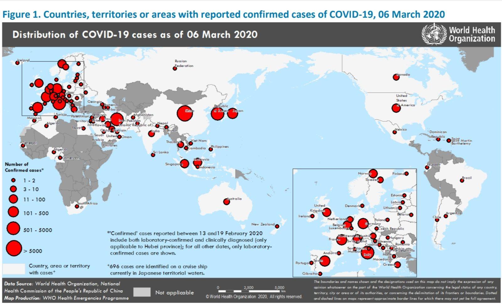 Количество заразившихся Коронавирусом пугающе растет